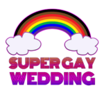 Super Gay Wedding Podcast logo